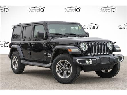 2018 Jeep Wrangler Unlimited Sahara (Stk: 34314AU) in Barrie - Image 1 of 22