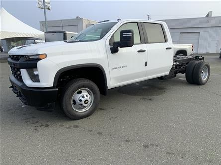 2021 Chevrolet Silverado 3500HD Chassis Work Truck (Stk: M6042-21) in Courtenay - Image 1 of 4