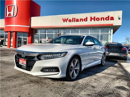 2018 Honda Accord Touring (Stk: U20409) in Welland - Image 1 of 22