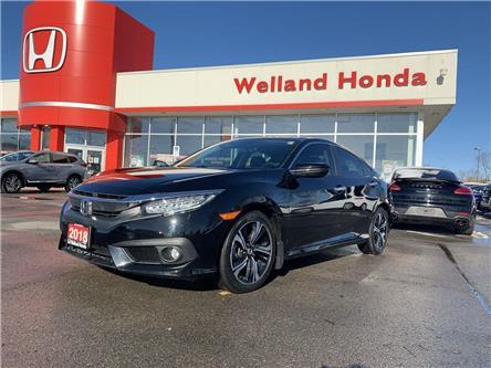 2018 Honda Civic Touring (Stk: U20136) in Welland - Image 1 of 24