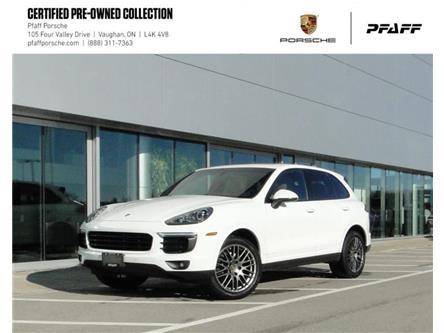 2018 Porsche Cayenne Platinum Edition (Stk: U9240) in Vaughan - Image 1 of 22