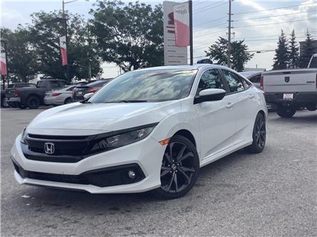 2021 Honda Civic Sport (Stk: 21124) in Barrie - Image 1 of 23
