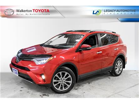 2017 Toyota RAV4 Limited (Stk: PL153) in Walkerton - Image 1 of 19