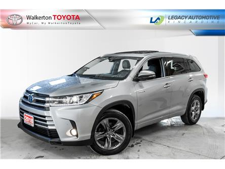 2018 Toyota Highlander Hybrid Limited (Stk: 21073A) in Walkerton - Image 1 of 18