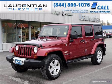 2012 Jeep Wrangler Unlimited Sahara (Stk: 20382A) in Sudbury - Image 1 of 23