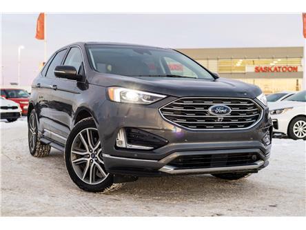 2019 Ford Edge Titanium (Stk: 41051B) in Saskatoon - Image 1 of 21