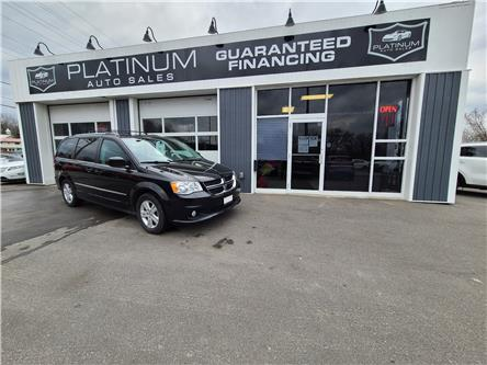 2016 Dodge Grand Caravan Crew (Stk: 381685) in Kingston - Image 1 of 12