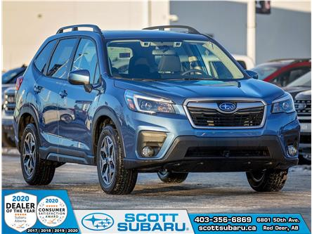 2021 Subaru Forester Touring (Stk: 412265) in Red Deer - Image 1 of 17