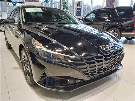 2021 Hyundai Elantra Preferred w/Sun & Safety Package (Stk: R10309) in Ottawa - Image 1 of 12