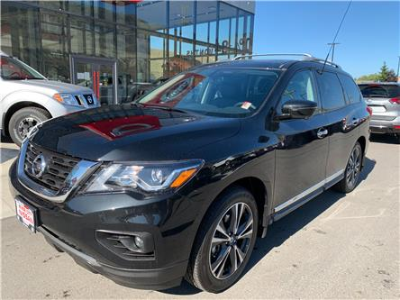 2020 Nissan Pathfinder Platinum (Stk: T20316) in Kamloops - Image 1 of 30
