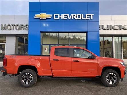 2021 Chevrolet Colorado Z71 (Stk: 7210440) in Whitehorse - Image 1 of 20