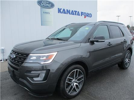 2017 Ford Explorer Sport (Stk: 21-1201) in Kanata - Image 1 of 11