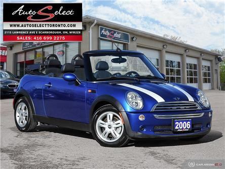 2006 MINI Cooper Convertible (Stk: 6TMCV11) in Scarborough - Image 1 of 28