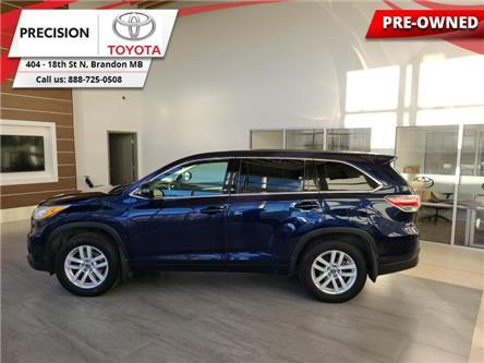 2016 Toyota Highlander LE (Stk: 203131) in Brandon - Image 1 of 26