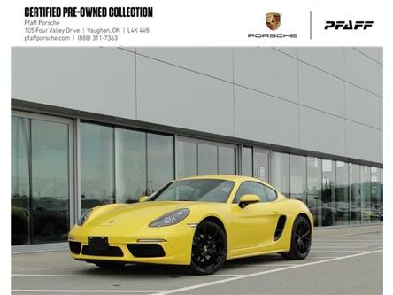 2018 Porsche 718 Cayman  (Stk: U9225) in Vaughan - Image 1 of 20