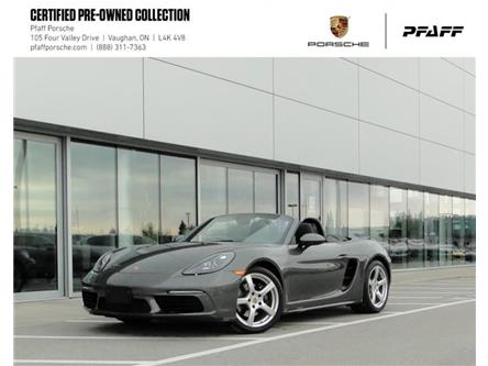 2017 Porsche 718 Boxster PDK (Stk: U9237) in Vaughan - Image 1 of 22