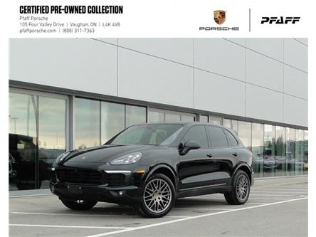 2018 Porsche Cayenne Platinum Edition (Stk: U9252) in Vaughan - Image 1 of 22