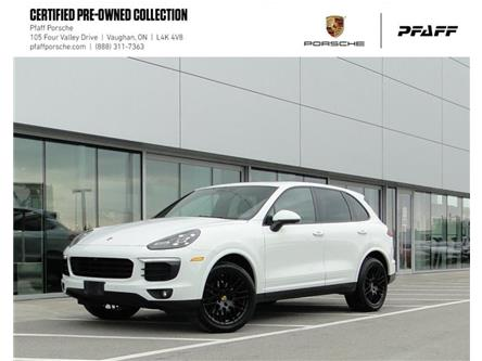 2018 Porsche Cayenne Platinum Edition (Stk: U9254) in Vaughan - Image 1 of 22