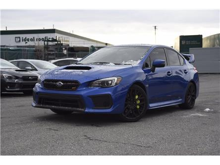 2018 Subaru WRX STI Sport-tech w/Wing (Stk: P2387) in Ottawa - Image 1 of 23