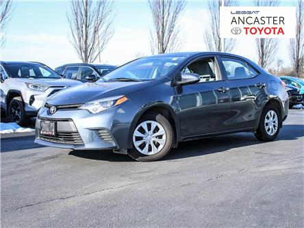 2015 Toyota Corolla  (Stk: P210) in Ancaster - Image 1 of 21