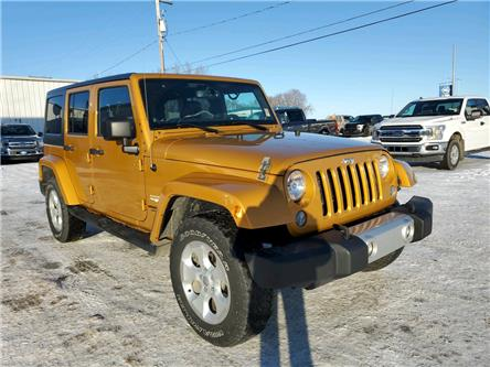 2014 Jeep Wrangler Unlimited Sahara (Stk: 20U142A) in Wilkie - Image 1 of 17