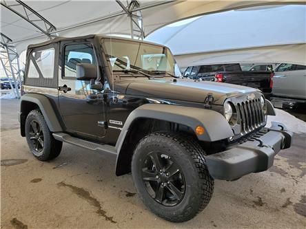 2018 Jeep Wrangler JK Sport (Stk: 187248) in AIRDRIE - Image 1 of 26