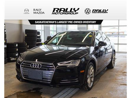 2017 Audi A4 2.0T Progressiv (Stk: V1382) in Prince Albert - Image 1 of 13