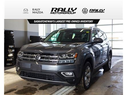 2019 Volkswagen Atlas 3.6 FSI Highline (Stk: V1388) in Prince Albert - Image 1 of 15