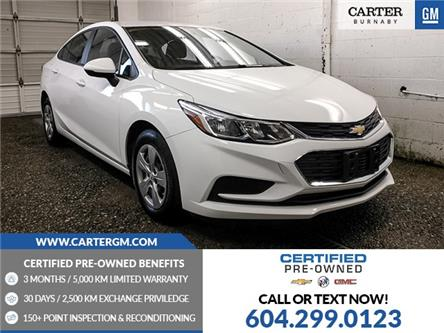2018 Chevrolet Cruze LS Auto (Stk: P9-63100) in Burnaby - Image 1 of 22