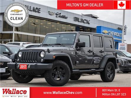 2017 Jeep Wrangler Unlimited 4WD 4dr Big Bear Unlimited sport Accident Free (Stk: 025387A) in Milton - Image 1 of 22