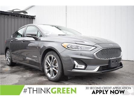 2019 Ford Fusion Hybrid Titanium (Stk: UCP2237) in Kingston - Image 1 of 26