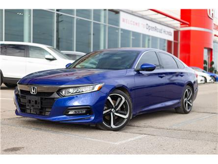 2018 Honda Accord Sport (Stk: 800653A) in Brampton - Image 1 of 16