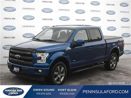 2017 Ford F-150 Lariat (Stk: 20FE334A) in Owen Sound - Image 1 of 24