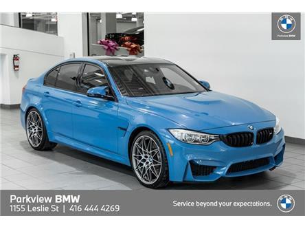 2017 BMW M3 Base (Stk: PP9556) in Toronto - Image 1 of 22