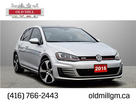 2016 Volkswagen Golf GTI 5-Door Autobahn (Stk: 054098U) in Toronto - Image 1 of 21