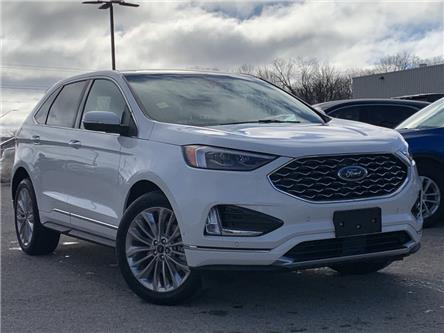 2020 Ford Edge Titanium (Stk: 20T1135) in Midland - Image 1 of 17