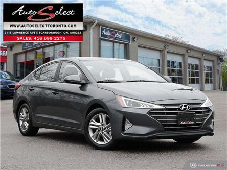 2019 Hyundai Elantra Preferred w/Sun & Safety Package (Stk: H1S1P64) in Scarborough - Image 1 of 29