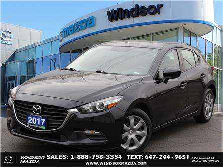 2017 Mazda Mazda3 Sport GX (Stk: PR8111) in Windsor - Image 1 of 24