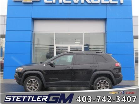 2020 Jeep Cherokee Trailhawk (Stk: 46283) in STETTLER - Image 1 of 23