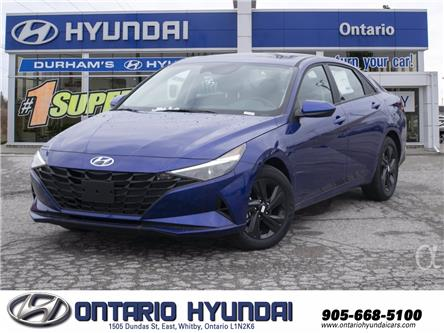 2021 Hyundai Elantra Preferred Tech (Stk: 074085) in Whitby - Image 1 of 17