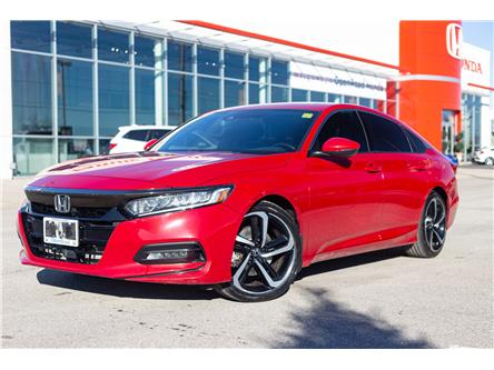 2018 Honda Accord Sport (Stk: P00010) in Brampton - Image 1 of 17