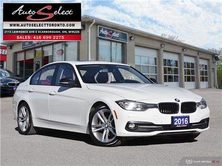 2016 BMW 320i xDrive (Stk: WR1X4T1) in Scarborough - Image 1 of 28