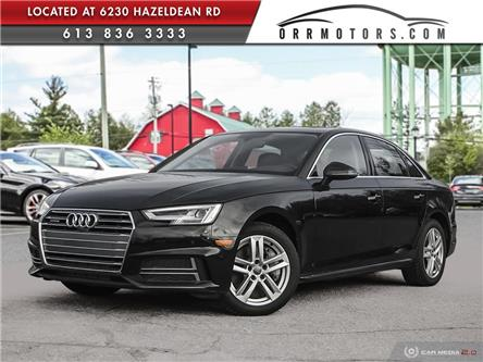 2018 Audi A4 2.0T Technik (Stk: 6270) in Stittsville - Image 1 of 27