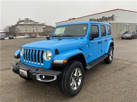 2021 Jeep Wrangler Unlimited Sahara (Stk: 21-064) in Ingersoll - Image 1 of 20