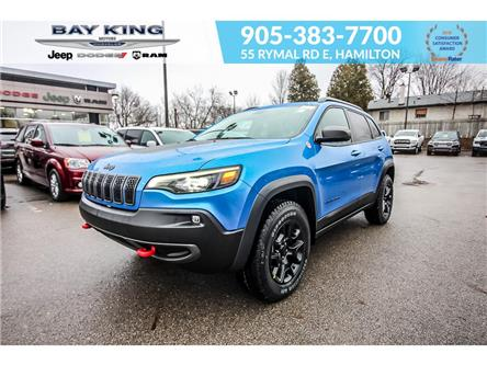2021 Jeep Cherokee Trailhawk (Stk: 46978731) in Hamilton - Image 1 of 30