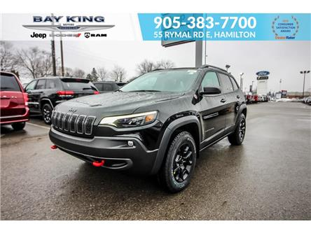 2021 Jeep Cherokee Trailhawk (Stk: 46978727) in Hamilton - Image 1 of 30