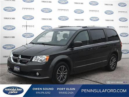 2016 Dodge Grand Caravan SE/SXT (Stk: 20LI63A) in Owen Sound - Image 1 of 25