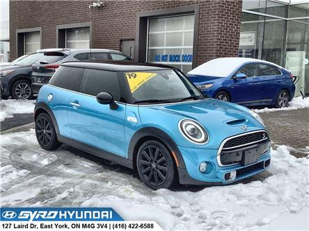 2019 MINI 3 Door Cooper S (Stk: H6255A) in Toronto - Image 1 of 30