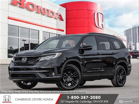 2021 Honda Pilot Black Edition (Stk: 21446) in Cambridge - Image 1 of 24