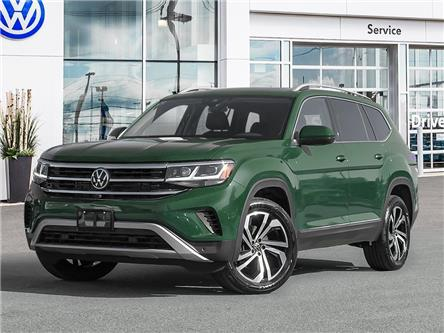 2021 Volkswagen Atlas 3.6 FSI Execline (Stk: A21032) in Sault Ste. Marie - Image 1 of 10